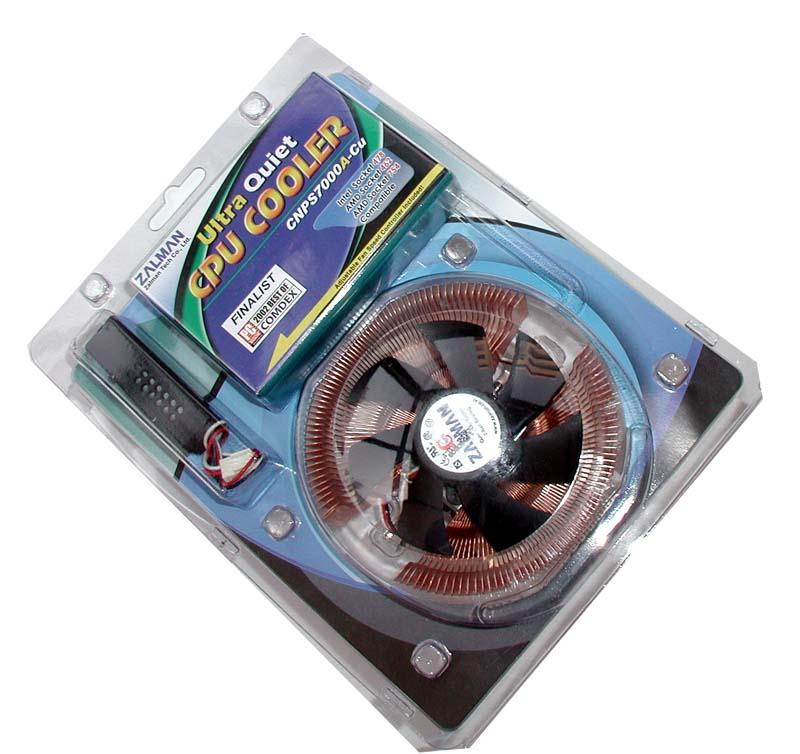 Disipador para CPU Zalman CNPS7000A-Cu   hard-h2o