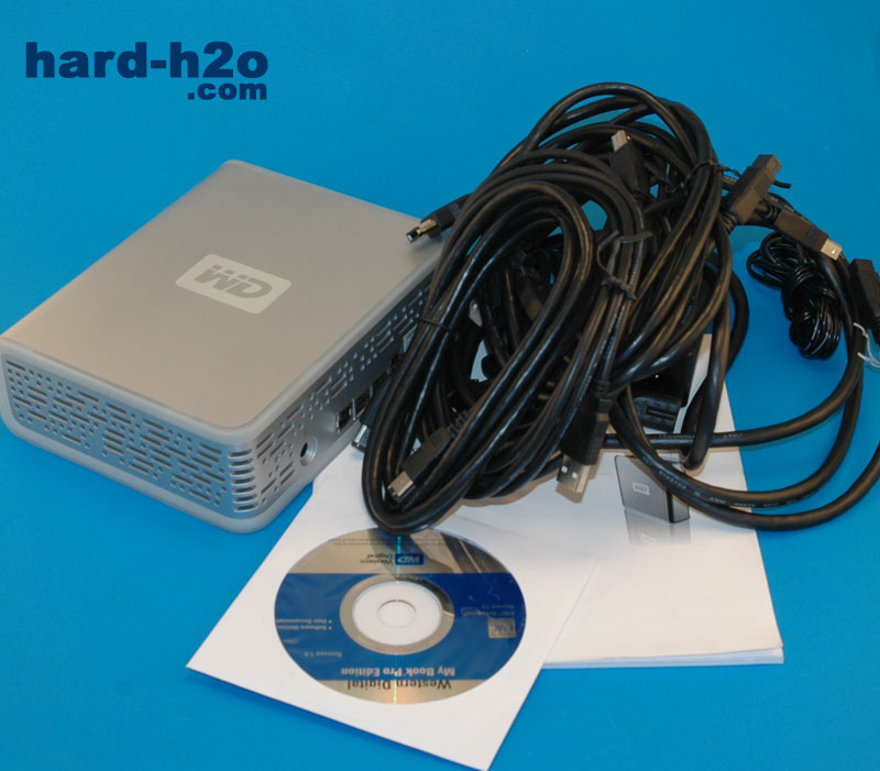 HD externo Western Digital My Book Pro 500 GB | hard-h2o com