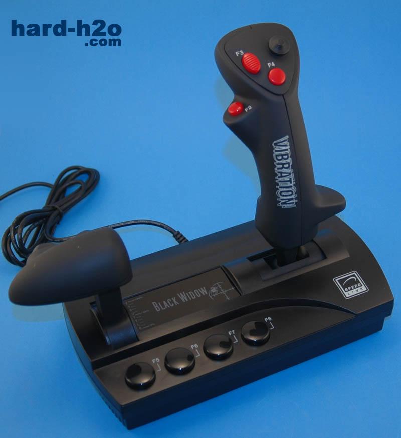 Joystick SpeedLink Black Widow | hard-h2o.com