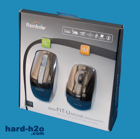 Ampliar Foto Ratón Rainbow Fit-U Wireless Master