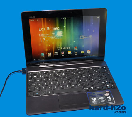 Ampliar Foto Tablet Asus Transformer Prime TF201