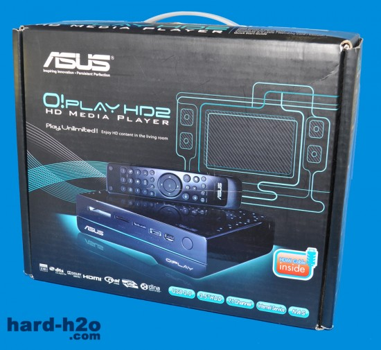 Ampliar foto Reproductor multimedia Asus O!Play HD2
