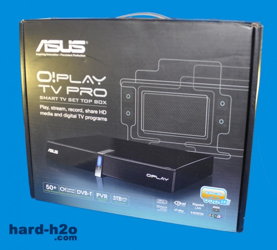 Ampliar foto Reproductor multimedia Asus O!Play TV Pro