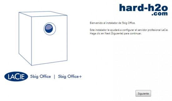 Ampliar foto NAS LaCie 5big Office+