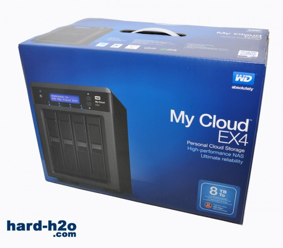 Ampliar foto Western Digital My Cloud EX4